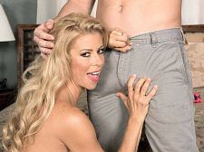 Alexis Fawx and the luckiest petticoat chaser in the universe
